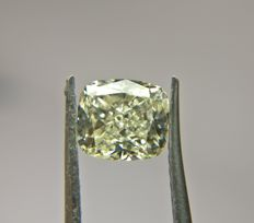 1.00 ct Cushion Modified Brilliant cut diamond M SI1
