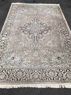 Oriental carpet! Cashmere silk! 100% hand-knotted - investment