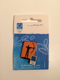 Enameled original olympic pins ATHENS 2004 Olympic games