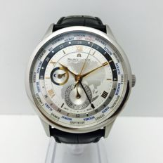 Maurice Lacroix Masterpiece Worldtimer Ref. MP6008 -- For gentlement-- Year 2016