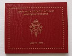 Vatican – year pack/ year collection 2008, Benedictus XVI