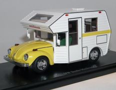 Auto Cult - Scale 1/43 - VW  Volkswagen Beetle Minihome, Käfer Camper, USA  1977
