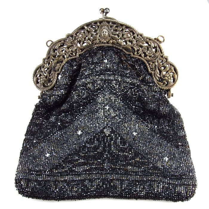 Dutch silver Art Nouveau purse with silver clasp - B.W. van Eldik ... ec0189e08685f