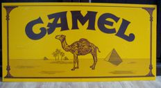 Camel advertising sign of acrylate - 20th century