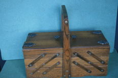 Beautiful sewing box Dutch quality.