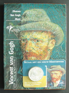 The Netherlands – 5 euro 2003 'Vincent van Gogh' (2 pieces) – silver