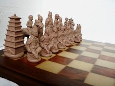 "Collection chess: ""Warriors of Xi'an"""