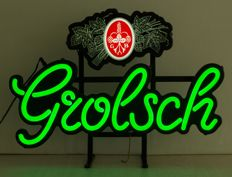 Neon lighting of Grolsch - 21st century