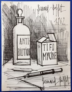 Bernard Buffet - Antibiotique Tifomycine