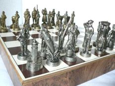 "Metal chess - Collection: ""Land and sea"""
