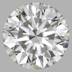 0.50ct Round Brilliant Diamond D IF  GIA  Certification -SERIAL#1969 Original Image 10X