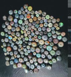 Lot of natural Welo Fire Opals - 55ct (160)