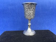 Silver Kiddush cup, Alexander Fuld, Moscow, around 1900