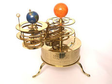 Sun Earth Moon Orrery Tellurium