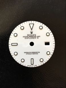 Genuine Rolex Explorer II Tritium Dial White 16570,16550 factory original