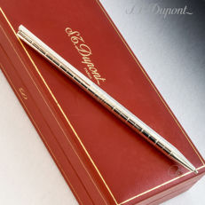 "Dupont Classique L2 Palladium ""Cercles"" Ballpoint Pen / Pencil"