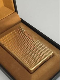 Dupont lighter, gold plating, from the 70s