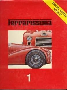 Ferrari book box: Lot of 5 books about Ferrari