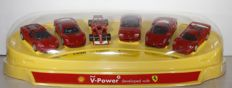 Ferarri Shell V-Power display with show cars - 2nd half of 20th century