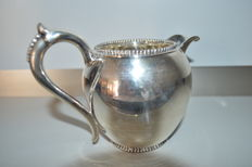 Silver milk jug, The Netherlands, Voorschoten, N.M. van Kempen and Sons, 1889