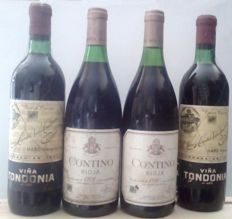 1978 Rioja Contino Reserva & 1980 Rioja Contino Reserva & Viña Tondonia 6º Año, Bottled in the 70's (2 botles). Total 4 Botles