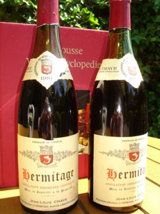 1981 Domaine Jean-Louis Chave Hermitage, Rhone - 2 bottles (75cl)