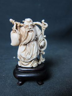 Ivory Immortal – China – around 1920-1930.