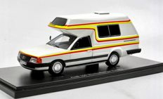 Auto Cult - Scale 1/43 -  Audi 100 Bischofberger family wohnmobil - camper 1985