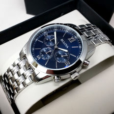 Bulova Classic men's chronograph  watch – new, never worn, with original box and papers.