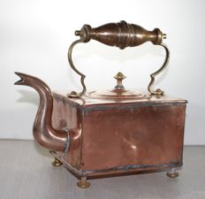 Yellow copper coffeepot - Royal House