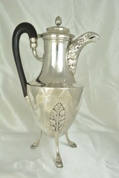 Silver tripod pitcher, France, Paris, late 18th century to early 19th century.