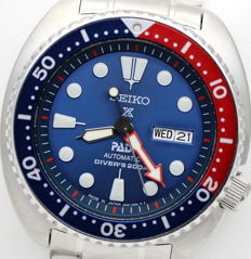 """Seiko Prospex Automatic Diver's 200 m """"Turtle PADI"""" SRPA21J1  – Special Edition Made in Japan – Automatic Men's Watch"""