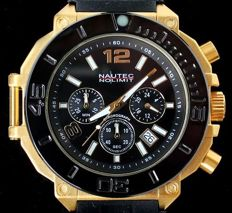 NNL Nautec No Limit Ultimate Backlash Diver Chronograph  –  Men's wristwatch –  2017 New Model
