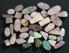 Boulder opals - various sizes - 14ct  (39)