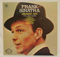 Frank Sinatra, a great collection of 24 titels, including a 4 LP-boxset and 1 EP. Total of 28 LP's + 1 Album of Nancy Sinatra