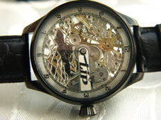 "23. LIP  -  ""Submarine"" Skeleton Men's marriage wristwatch 1905/1910"