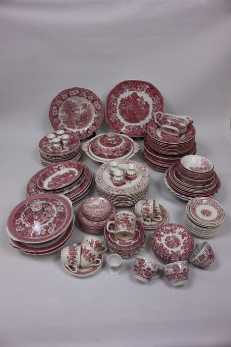 Engels Servies Te Koop.Kavel 132 Delen Engels Servies Myott Mason S Wedgwood Johnson Bros Grindley Enz Catawiki