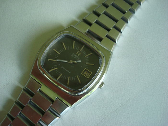 Omega Seamaster - Herrenuhr - Swiss made - TV-Case- ca. 70-er Jahre