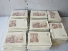 Italy - Florence - Fifties - 400 special postcards/letters