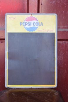 1950s - metal advertising PEPSI COLA
