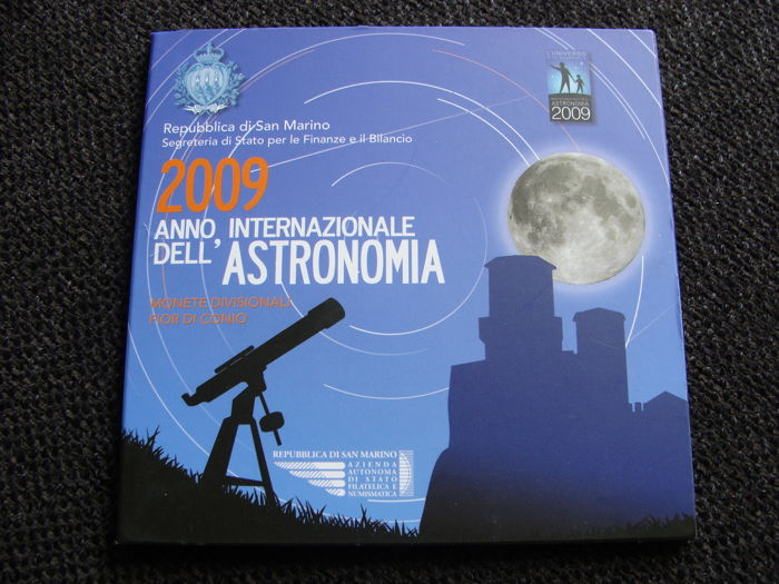 San Marino - Year pack 2009 including silver 5 euro