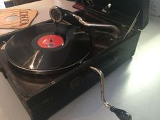 His Master Voice portable gramophone 101