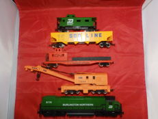 Mehano H0 - Burlington Northern 6119 Zugset