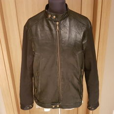Richmond Denim - Leather biker jacket
