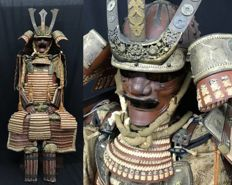 Original Japanese Samurai Armour around 1890/1895