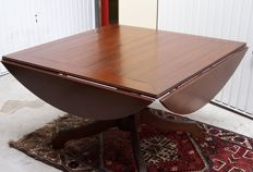 Square Oak lop table, second half 20th century