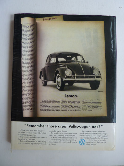 Remember those great Volkswagen ads - American Volkswagen Advertising in the 1960s and 70s.