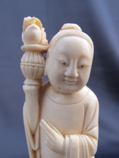 Ivory statue Buddha/Immortal? – China – early 20th century