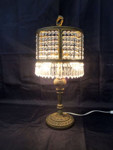 Bronze Table Lamp, Italy, ca. 1930