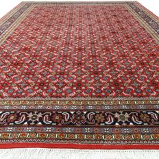 "Indo Bidjar Herati – 348 x 257 cm – ""Modern XL oriental carpet – Clean and in mint condition""."